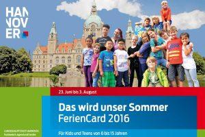 Hannover Feriencard 2016