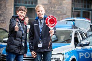 Zukunftstag bei der Polizeidirektion Hannover