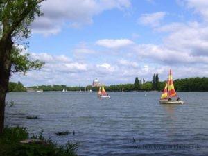 Hannovers See im Herzen der Stadt