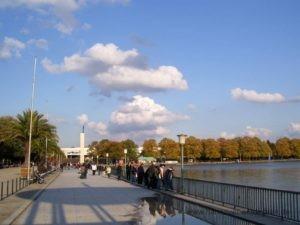 Maschsee Promenade am Nordufer