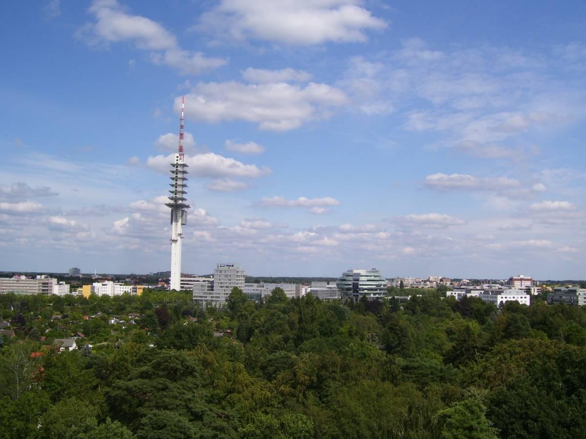 Eilenriedeblick zum Fernsehturm