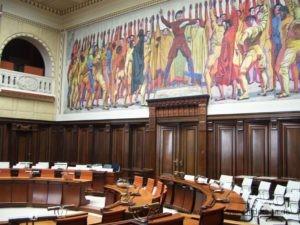 Hodlersaal im Neuen Rathaus