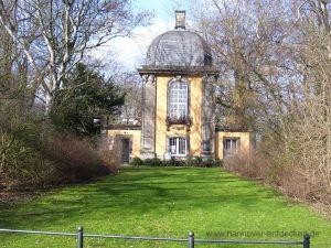 Der Küchengartenpavillon auf dem Lindener Bergfriedhof gehörte einst zum Küchengarten in Hannover