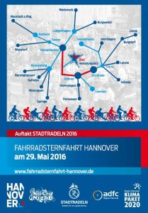Fahrradsternfahrt Hannover 2016