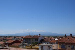 Die Pyrenäen in Sichtweite