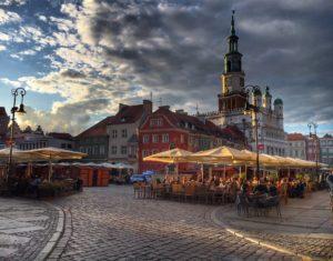 Platz in Poznań