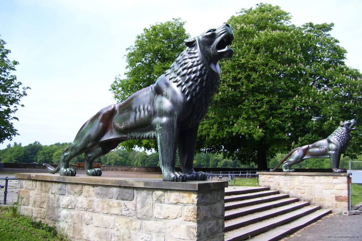 Löwenbastion am Maschsee