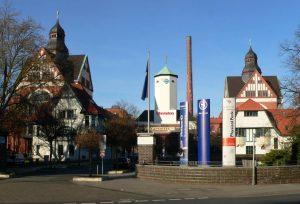 Ehemaliges Pelikan Firmengelände an der Podbielskistraße