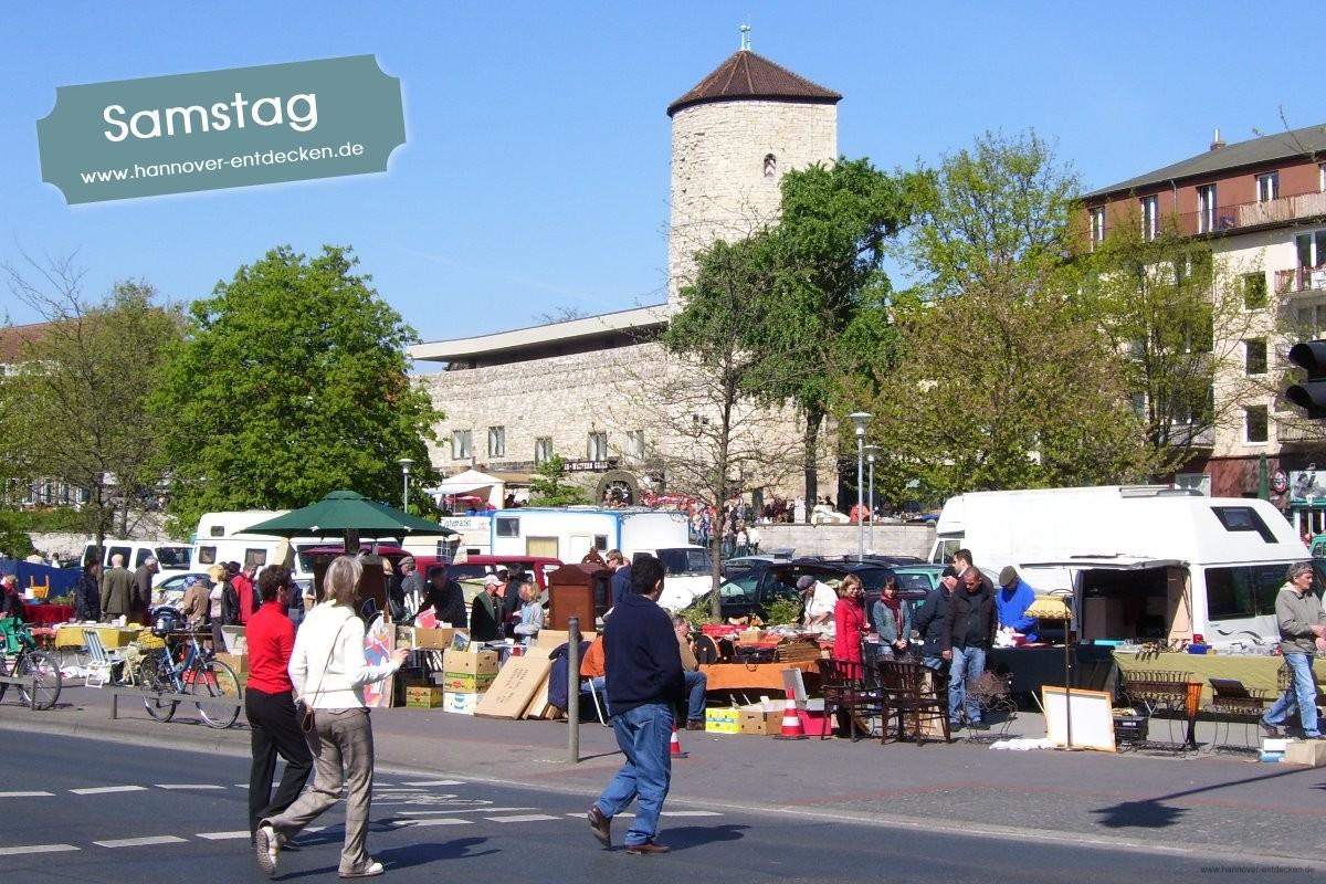 Jeden Samstag Flohmarkt in Hannover