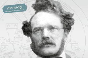 """Das Titelmotiv zur Ausstellung """"…ein Reich, welches ich gegründet habe"""" – Werner von Siemens und die Elektrotechnik (Bild: Siemens Corporate Archives)"""