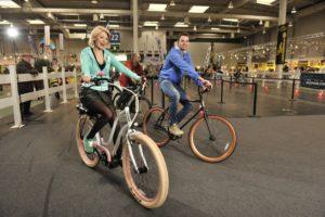 Fahrrad-Teststrecke auf der abf (Foto: Henning Scheffen)