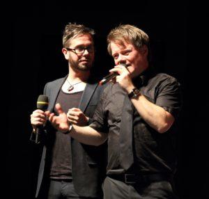 Jan Egge Sedelies und Henning Chadde
