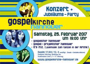 15 Jahre Gospelkirche Hannover