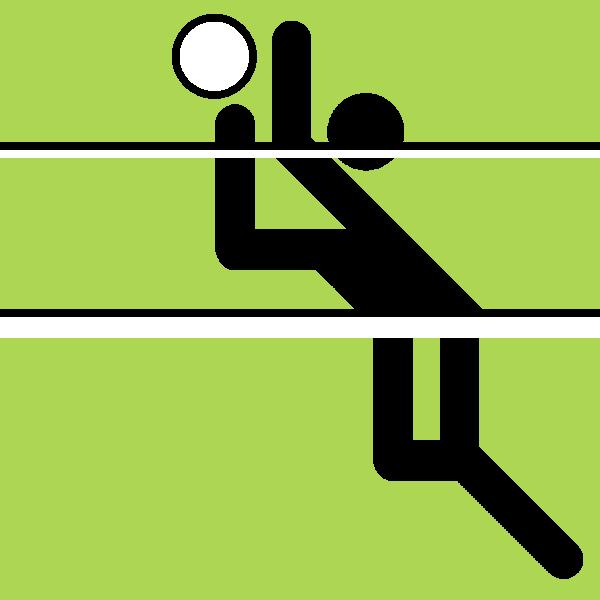 Volleyball-Logo ( Lämpel, Volleyball-Logo, CC BY-SA 3.0 )