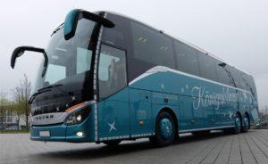 Gestohlener Reisebus