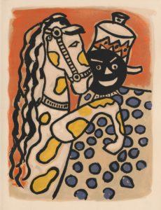 Fernand Léger - Illustration zum Buch Cirque, 1950