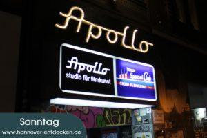 Apollokino am Sonntag