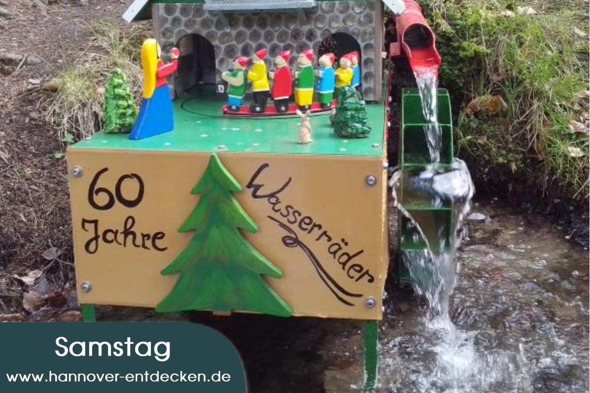 60 Jahre Wasserräder