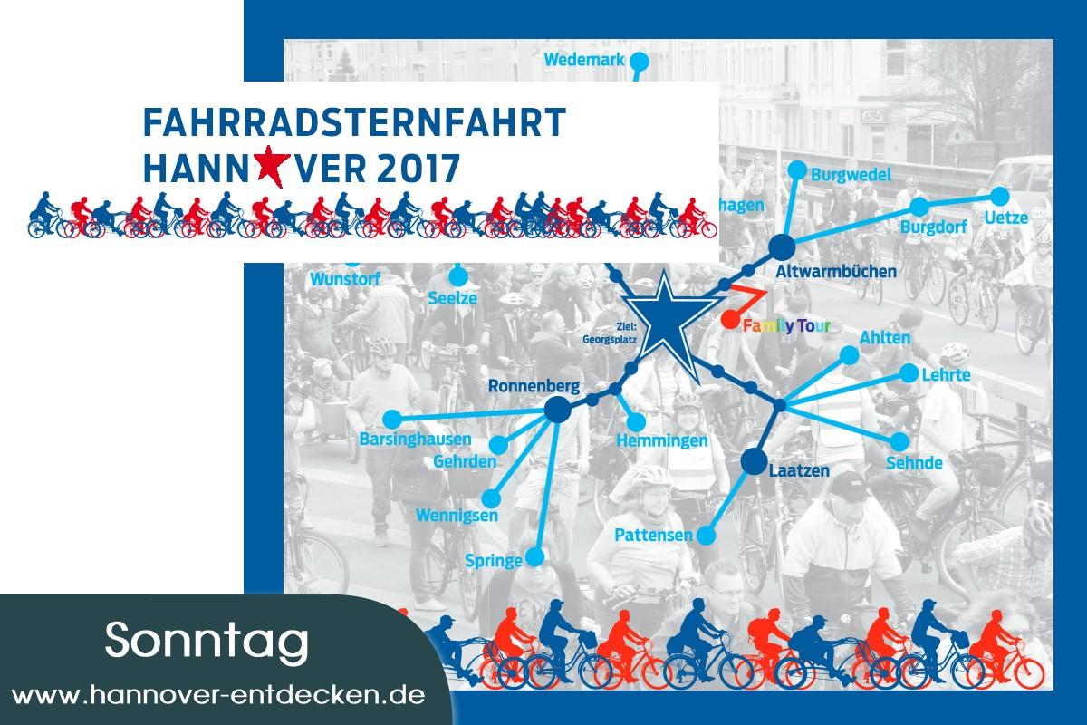Fahrradsternfahrt Hannover