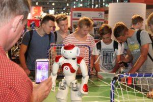 IdeenExpo 2015, IdeenHalle 9, Roboter