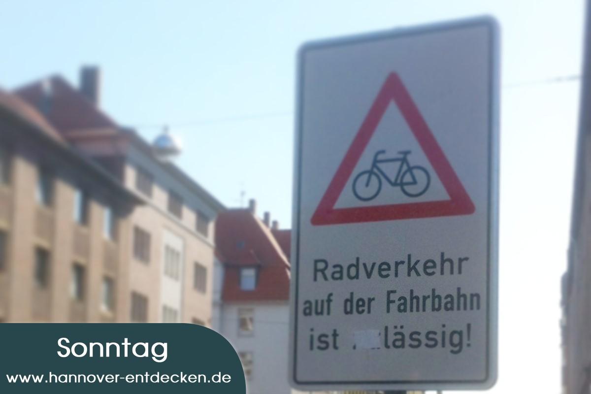 """Radverkehr auf der Fahrbahn ist """"zu""""lässig"""