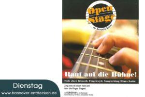 Open Stage für Acoustic Guitar
