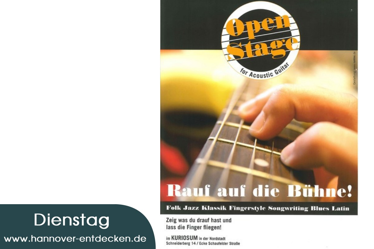 Open Stage für Acoustic Guitar