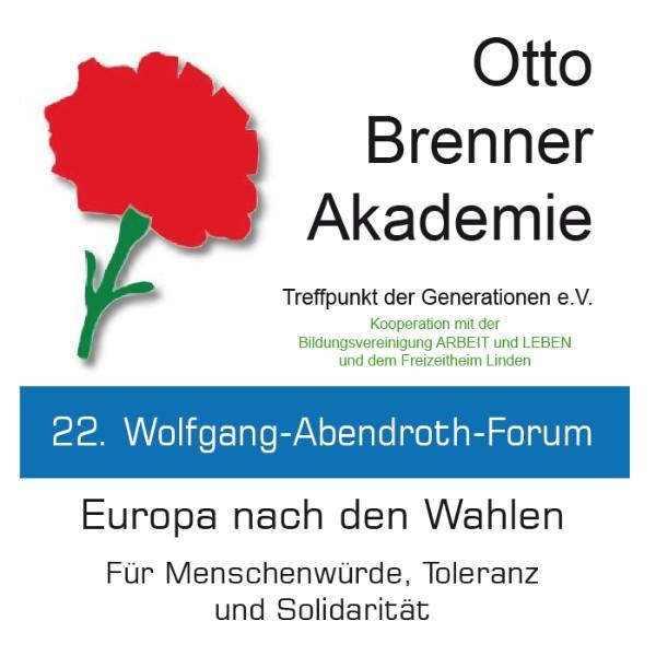 22. Wolfgang-Abendroth-Forum