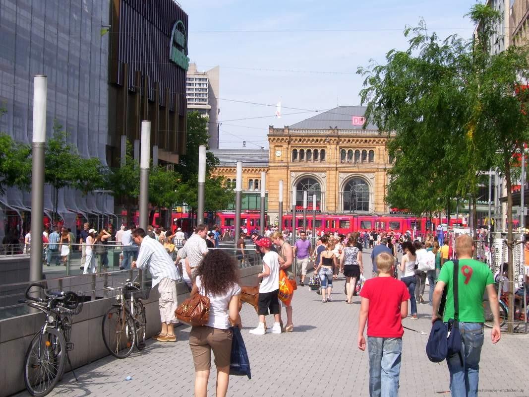 Sehen und gesehen werden auf der Bahnhofstraße