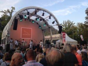 Musik an der Löwenbastion beim Maschseefest 2018