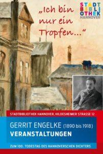 Veranstaltungen zum 100. Todestag des Dichters Gerrit Engelke