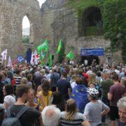 Kundgebung in der Aegidienkirche