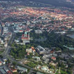 Luftbild Hannover Rathaus
