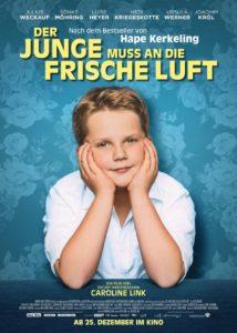 Filmplakat: Der Junge muss an die frische Luft