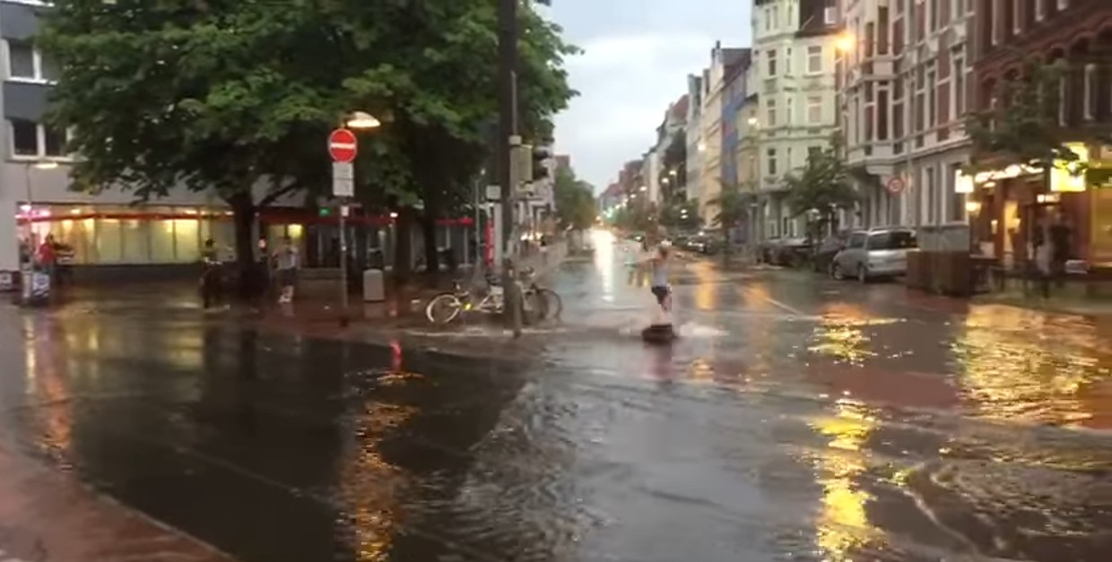 Unwetter in Hannover