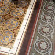 Wunderschöner Fußboden
