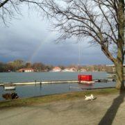 Regenbogen am Maschsee