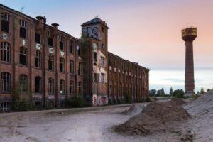 Überreste der ehemaligen Reifen- und Gummiproduktefabrik der Continental AG, Werk Limmer