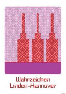 Poster Wahrzeichen Linden-Hannover (DIN A2)