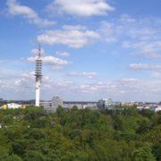Blick über die Eilenriede in Richtung Hannover List