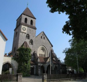 Die ehemalige Herz-Jesu-Kirche in Misburg-Süd wurde 2010 in ein Kolumbarium