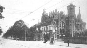 Villa Willmer die sogenannte Tränenburg um 1900