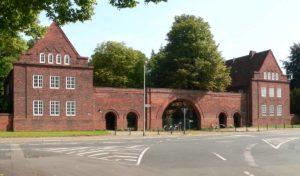 Seelhorster Friedhof - Eingang Hoher Weg