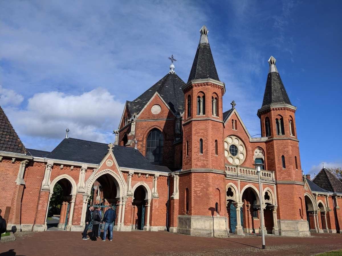 Der Stöckener Friedhof, einer der schönsten Friedhöfe von Hannover