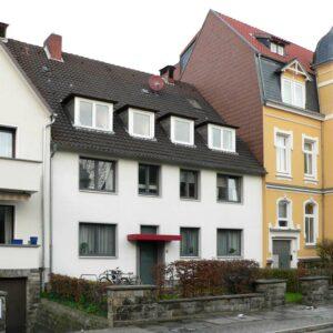 Standort des früheren Wohnhauses von Kurt Schwitters in Waldhausen