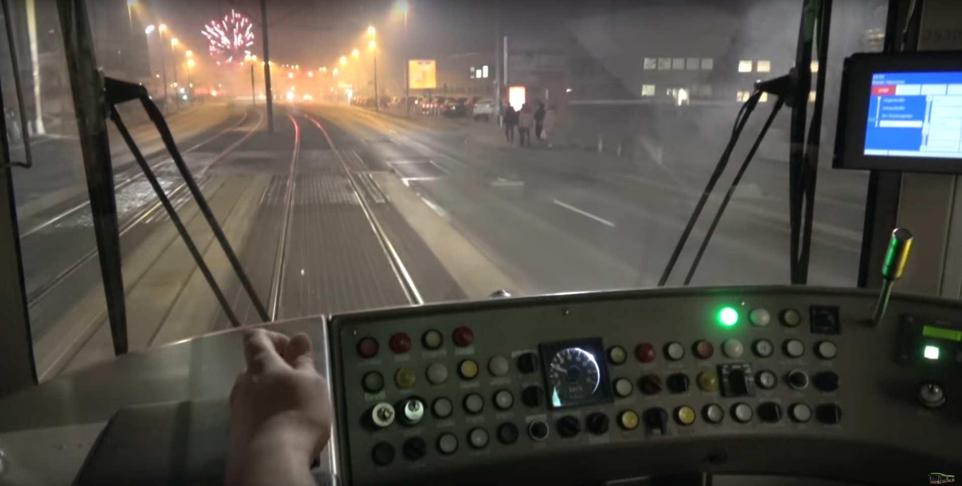 Üstra Linie 10 Silvester 2019