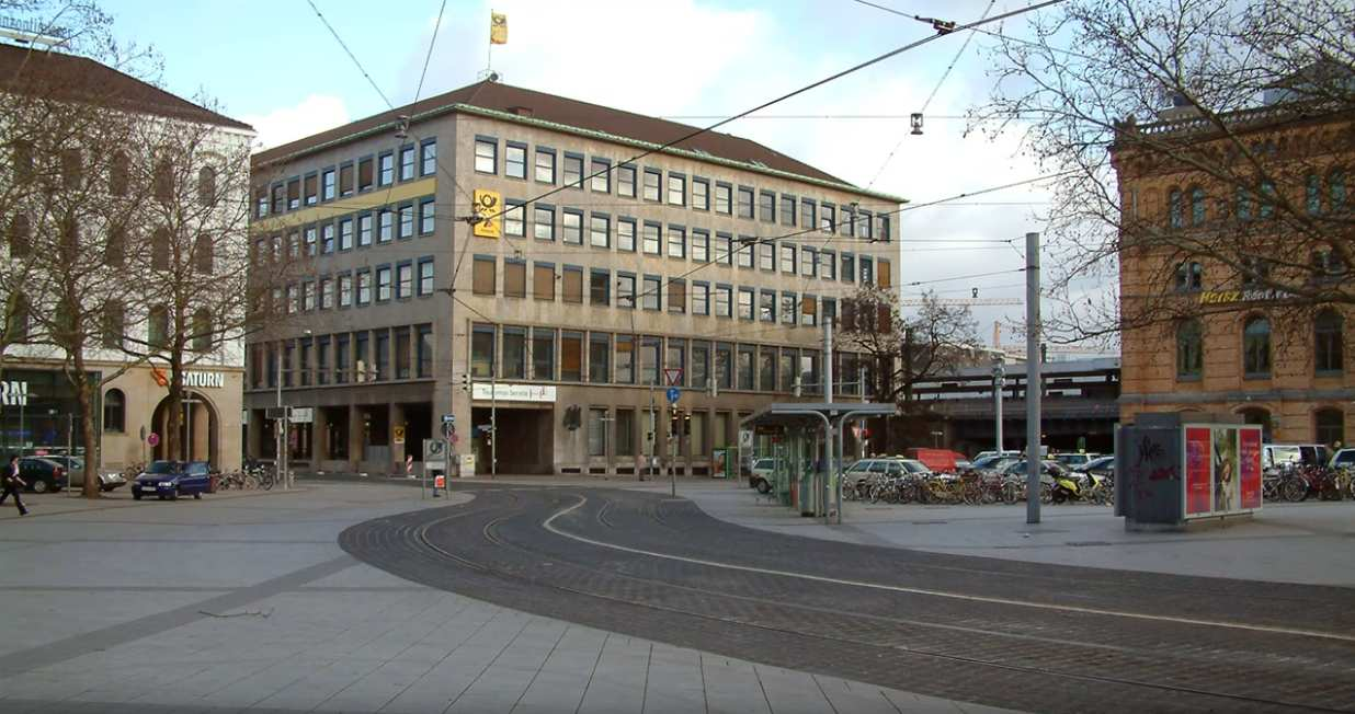 ehem. Hauptpost Hannover