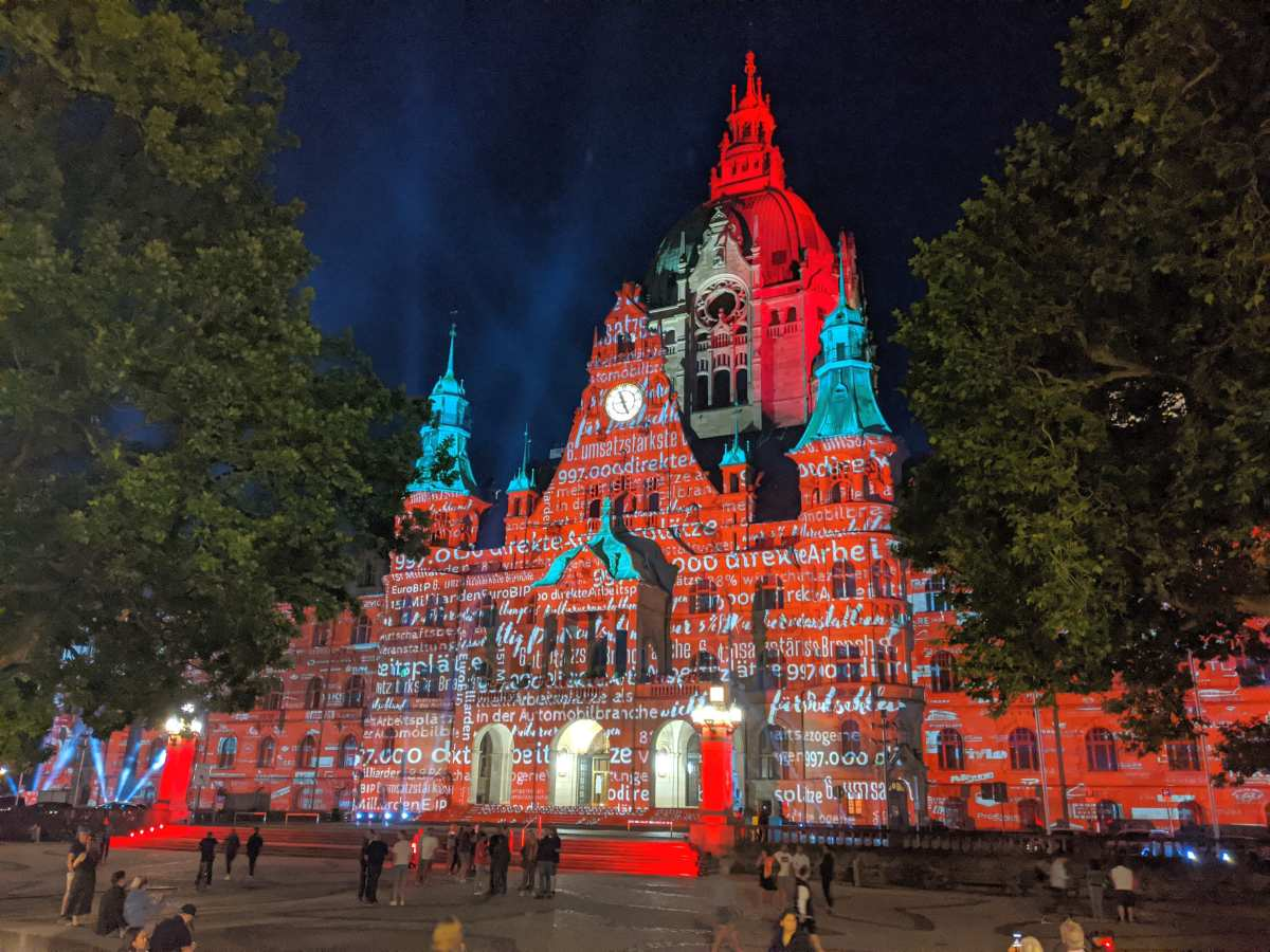 Night of Light 2020 - Neues Rathaus