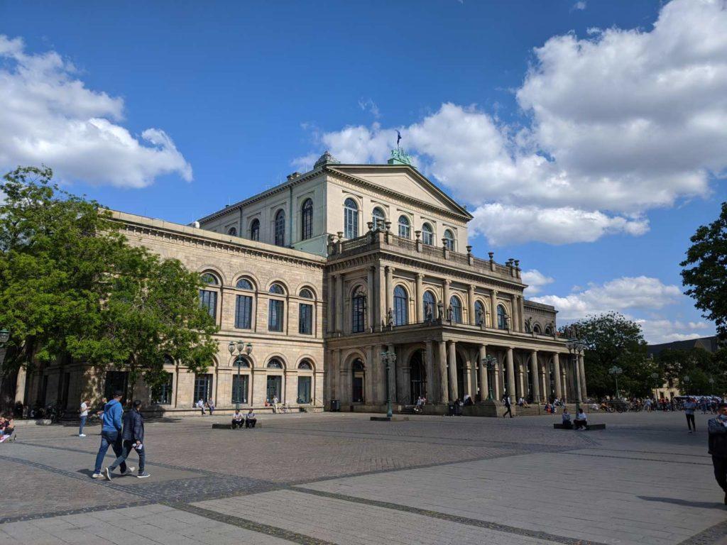 Ein Architektur Highlight, das Opernhaus Hannover