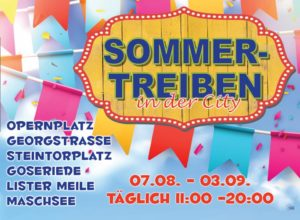 Sommer-Treiben in der City